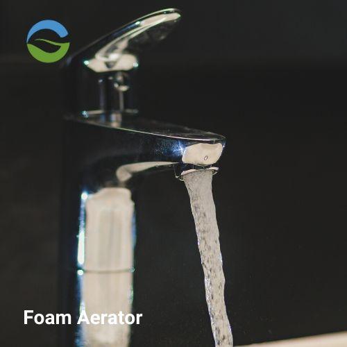 Foam flow aerator