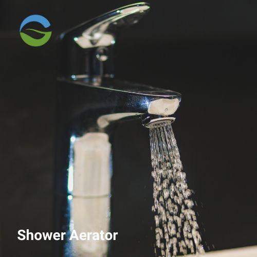 Spray / Shower flow Water saving aerator