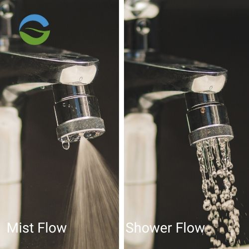Dual Mode Tap Water Saving Nozzle Mist & Shower